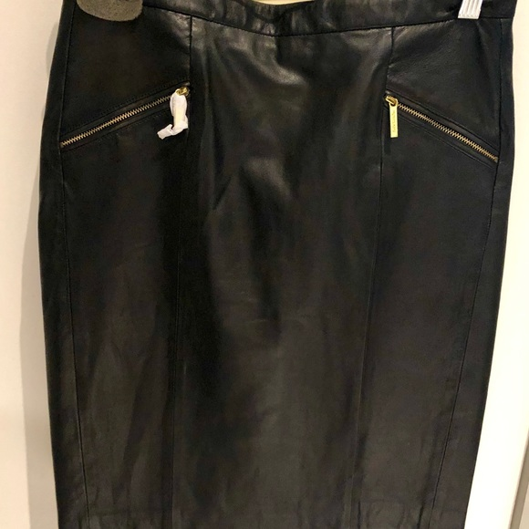 MICHAEL Michael Kors Dresses & Skirts - Michael Kors NWT Leather skirt